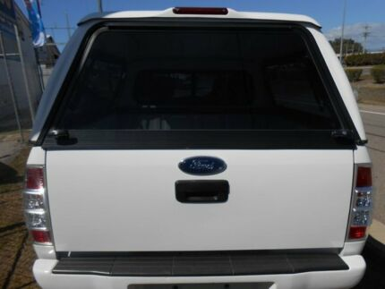 2010 Ford Ranger PK XL White 5 Speed Manual Dual Cab Garbutt Townsville City Preview