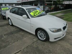 2010 BMW 320i E90 MY10 Lifestyle White 6 Speed Auto Steptronic Sedan