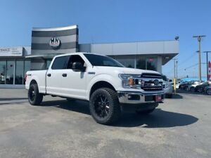 "2018 Ford F-150 XLT 5.0L V8 4X4 LIFTED 35"" Wheel Tire Package"