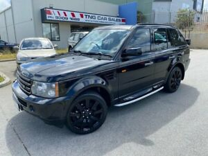 2006 Land Rover Range Rover Sport L320 06MY TDV6 Black 6 Speed Auto Sequential Wagon Wangara Wanneroo Area Preview