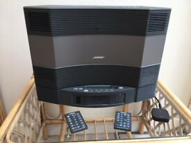 Bose Acoustic Wave Music System + Multi-Disc Changer + Bluetooth Input Add-On