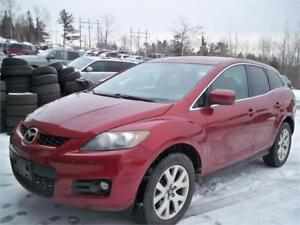 MAZDA CX 7  ONLY 149000 KM ! LEATHER ! WINTER TIRES! HEATED SEAT