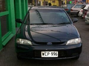 1998 Ford Laser KJ III (KM) LXI Black 5 Speed Manual Hatchback Nailsworth Prospect Area Preview