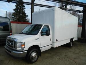2013 E450 SUPERDUTY /16FT CUBE VAN