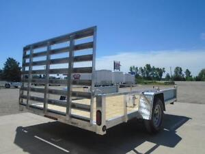 SIDE LOADING ATV TRAILER BUILT OUT OF ALL ALUMINUM 82''X12' London Ontario image 2