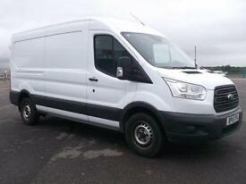 Ford Transit T350 LWB L3 H2 (FWD) VAN 100PS DIESEL MANUAL WHITE (2015)
