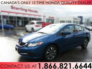 2015 Honda Civic Sedan EX | HONDA PLUS | 1 OWNER | NO ACCIDENTS