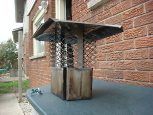STAINLESS STEEL CHIMNEY CAP Cambridge Kitchener Area image 2