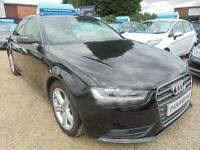 2012 62 AUDI A4 2.0 TDI SE TECHNIK 4D 134 BHP DIESEL SAT NAV FULL BLACK LEATHER