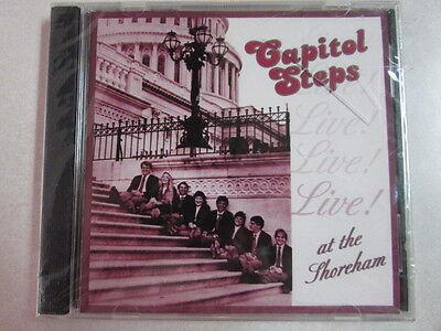 Capitol Steps Live  At The Shoreham 18 Trk Cd Parody Comedy Spoken Word Htf Oop