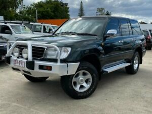 1998 Toyota Landcruiser FZJ105R GXL Green 4 Speed Automatic Wagon Greenslopes Brisbane South West Preview