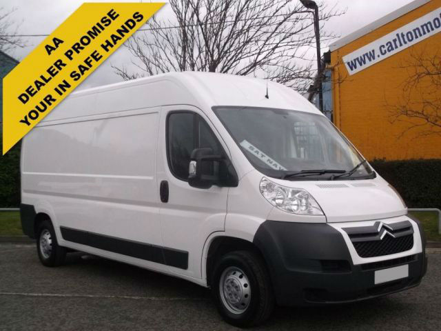 2012/ 62 Citroen Relay 35 L3 H2 Enterprise panel van [ Sat Nav+A/Con ] Fwd
