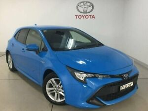 2018 Toyota Corolla ZWE211R Ascent Sport E-CVT Hybrid Blue 10 Speed Constant Variable Hatchback Chatswood Willoughby Area Preview