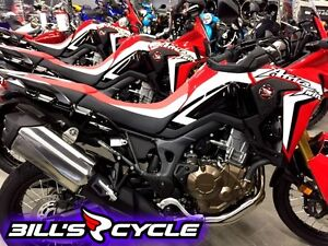 2017 HONDA On Road CRF 1000 LARH   Africa Twin Red Rally
