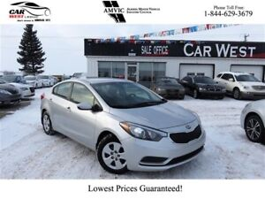 2016 Kia Forte LX | AIR CONDITIONING | CRUISE CONTROL | BLUETOOT