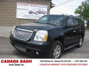 07 GMC Yukon DENALI 6.2L TOP OF THE LINE, 12M.WRTY+SAFETY $12500