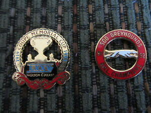 Hockey Pins:Greyhounds 91-92 O.H.L. Champs & 75 Mem. Cup