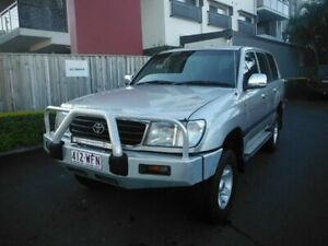 2001 Toyota Landcruiser GXL Silver 5 Speed Automatic Wagon Kedron Brisbane North East Preview