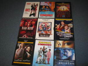Large lot of DVDs (continued)