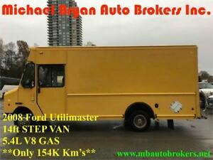 2008 FORD UTILIMASTER 14FT STEP VAN *ONLY 1 LEFT* ONLY 173K