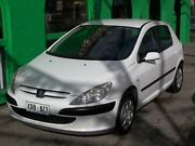 2004 Peugeot 307 1.6 White 5 Speed Manual Hatchback Nailsworth Prospect Area Preview