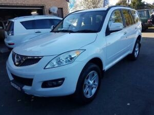 2012 Great Wall X240 CC6461KY MY11 (4x4) White 5 Speed Manual Wagon Campbelltown Campbelltown Area Preview