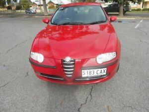 2003 Alfa Romeo 147 MY2002 Twin Spark Red 5 Speed Manual Hatchback Broadview Port Adelaide Area Preview