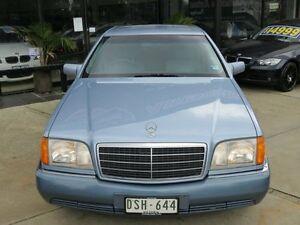 1993 Mercedes-Benz S320 W140 Altitude Blue 4 Speed Automatic Sedan Seaford Frankston Area Preview