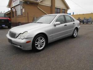 """2004 Mercedes-Benz C240 4Matic 2.6L V6 Leather Sunroof """"AS IS"""""""