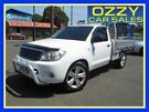 2008 Toyota Hilux GGN15R MY08 SR 4x2 White 5 Speed Manual Utility Penrith Penrith Area image 2