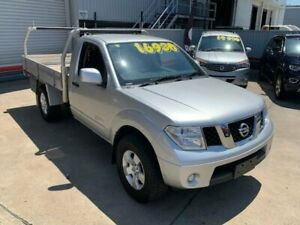 2013 Nissan Navara D40 MY13 RX (4x4) Silver 6 Speed Manual Cab Chassis Hendra Brisbane North East Preview