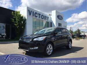 2015 Ford Escape Titanium, 2.0L 4Cyl ECOBOOST, FWD, Leather, Nav