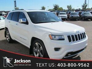 2015 Jeep Grand Cherokee Overland- Advanced tech pkg, NAV!