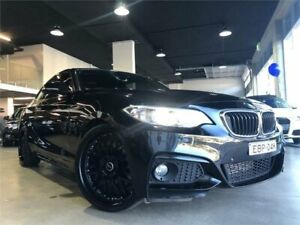 2015 BMW 228i F22 M Sport Black Sports Automatic Coupe Caringbah Sutherland Area Preview