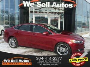 2016 Ford Fusion *AWD* Local Trade* Sunroof* Leather*Nav*