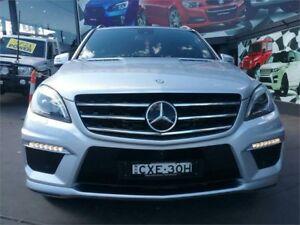 2014 Mercedes-Benz ML63 W166 AMG SPEEDSHIFT DCT Silver 7 Speed Sports Automatic Dual Clutch Wagon