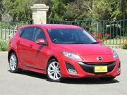 2010 Mazda 3 BL10L1 MY10 SP25 Activematic Red 5 Speed Sports Automatic Hatchback Blair Athol Port Adelaide Area Preview