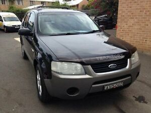2005 Ford Territory SX TS (4x4) Black 4 Speed Auto Seq Sportshift Wagon Campbelltown Campbelltown Area Preview