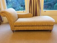 Chaise Longue sofa by Marks and Spencer. Right hand and excellent condition, in fact as new.