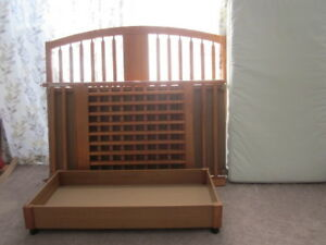 2 cribs and a change table for sale