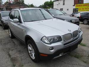 2007 BMW X3 3.0si PANORAMA ROOF