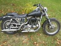 electric and kick start Harley Davidson 1000cc $2700.00