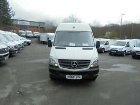 Mercedes-Benz Sprinter 314 LWB H/R VAN EURO 6 DIESEL MANUAL WHITE (2016)