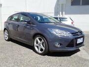 2012 Ford Focus LW Titanium PwrShift Grey 6 Speed Sports Automatic Dual Clutch Hatchback Bundoora Banyule Area Preview