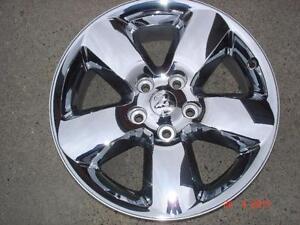 "2 - 2014 Dodge Ram Laramie Alum.OEM 20""x 5 bolt rims / no tires"