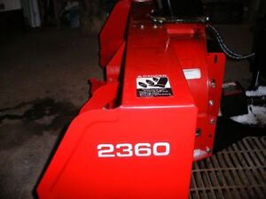 Front Mount Snow Blower