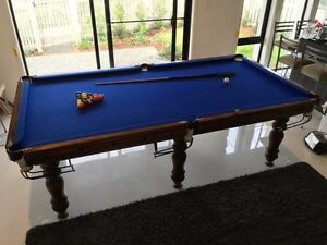 Pool Table (8 x 4) Excellent condition. Delivery Incl. $1400 ONO Hope Island Gold Coast North Preview