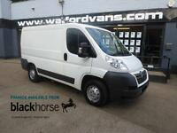 2013 Citroen Relay Enterprise 30 2.2HDi 110ps L1H1 A/C E/Pack Roof Rack Diesel w