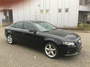 2012 AUDI A4 QUATTRO AUTOMATIC 145KM LEATHER SUNROOF