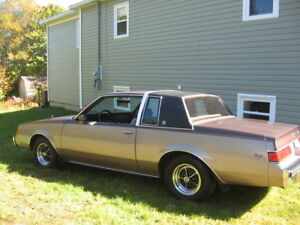 For Sale      1983 Buick Regal Sport
